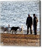 Delta Lake Beach Acrylic Print