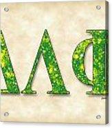 Delta Lambda Phi - Parchment Acrylic Print