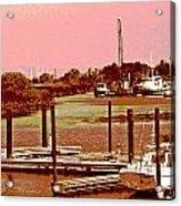 Delta Marina And Hues Of Color Acrylic Print