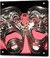 Masques / Tragedy/comedy Masks Acrylic Print