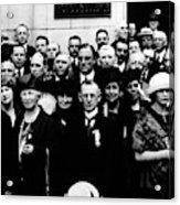 Democractic Delegates, 1920 Acrylic Print
