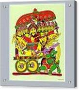 Demon King Ravana Acrylic Print