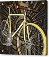 Demon Path Racer Bicycle Acrylic Print by Mark Jones