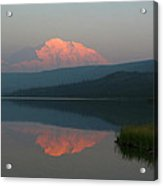 Denali Reflection Acrylic Print