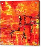 Dendritic Echoes Acrylic Print