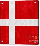 Denmark Flag Acrylic Print