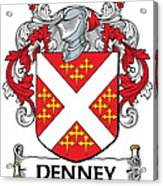 Denney Coat Of Arms Kerry Ireland Acrylic Print