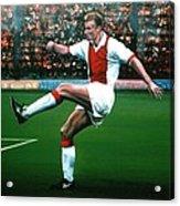 Dennis Bergkamp Ajax Acrylic Print