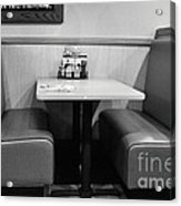 Denny's Booth Acrylic Print by Andres LaBrada