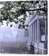Dense Fog Plymouth Rock Canopy Acrylic Print