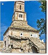 Densus Church Acrylic Print by Gabriela Insuratelu