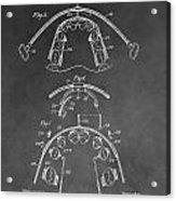 Dental Braces Patent Acrylic Print