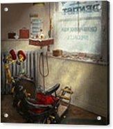 Dentist - Sb Johnston Dentist 1919 Acrylic Print