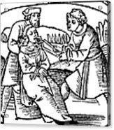 Dentistry, 1542 Acrylic Print