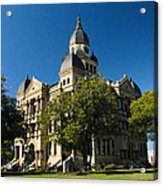 Denton County Courthouse Acrylic Print