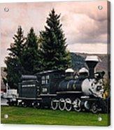 Denver And Rio Grande Western 268 Circa 1990 Acrylic Print