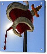 Denver Bulb Heart Acrylic Print