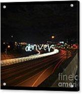 Denver Acrylic Print