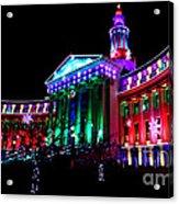 Denver County Building Acrylic Print
