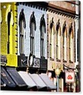 Denver Market Street Tilt Shift Acrylic Print