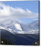 Denver Mountains Acrylic Print by Julie Palencia