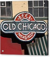 Denver - Old Chicago Beer Acrylic Print