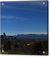 Denver, Colorado Skyline Acrylic Print