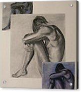 Depression Acrylic Print