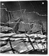 Depth In Black Acrylic Print