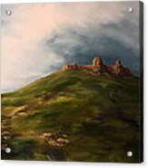 Deralict Chartley Castle Staffordshire Acrylic Print