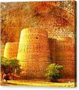 Derawar Fort Acrylic Print by Catf