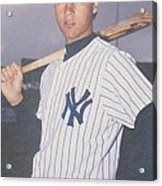 Derek Jeter New York Yankees Acrylic Print