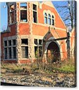 Derelict Station Acrylic Print