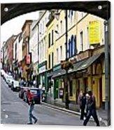 Derry Life - Irish Art By Charlie Brock Acrylic Print