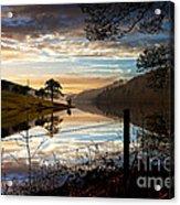 Derwent Village Reflections Acrylic Print