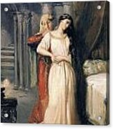 Desdemona Acrylic Print by Theodore Chasseriau