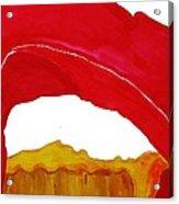 Desert Arch Original Painting Sold Acrylic Print