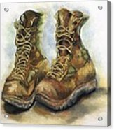 Desert Boots Acrylic Print