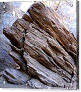 Desert Boulder Acrylic Print