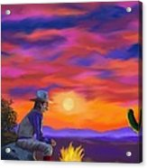 Desert Camp Acrylic Print