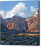 Desert Canyon Acrylic Print