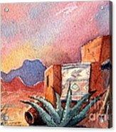 Desert Doorway Acrylic Print