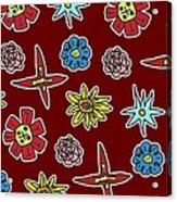 Desert Floral Acrylic Print