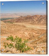 Desert Highway Acrylic Print