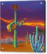Desert Jam Acrylic Print
