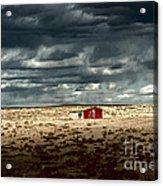 Desert Landscape Acrylic Print by Julie Lueders