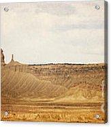 Desert Landscape2 Acrylic Print