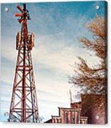Desert Lighthouse Acrylic Print