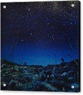 Desert Meteor Acrylic Print