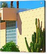 Desert Modern 7 Lakes Palm Springs Acrylic Print